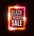 color black friday sale background discount card vector image