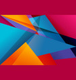 flat ui material design background vector image