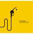 gasoline pump nozzle sign vector image vector image