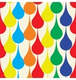Seamless pattern with drops vector image vector image