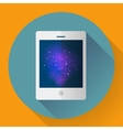 tablet computer icon with space image Flat vector image vector image