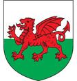 Wales vector image vector image