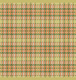 checked material pattern tartan and plaid fabric vector image