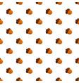 acorn pattern seamless vector image vector image