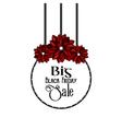 Big Black Friday Sale vector image vector image