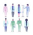 online doctor set 2 vector image