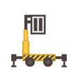 personal lift icon vector image