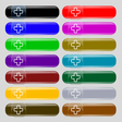 Plus icon sign Set from fourteen multi-colored vector image vector image