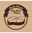 steak house design vector image