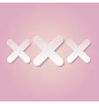 XXX vector image