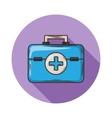 Medical bag vector image