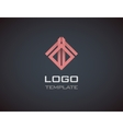 Fashion Jewelry luxury concept abstract logo vector image vector image