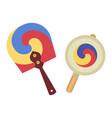lollipop vetor candy sweet food vector image