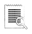 lupe and document design vector image