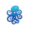 octopus icon vector image vector image