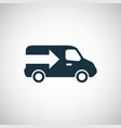 truck arrow icon trendy simple symbol concept vector image