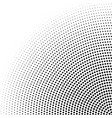 halftone radial dotted minimal texture vector image vector image