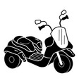 kid tricycle icon simple style vector image