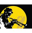 moon jazz vector image vector image