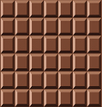 Seamless chocolate texture vector image vector image