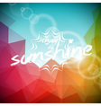 summer holiday on abstract background vector image