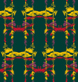 Seamless ikat pattern2 vector image