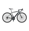 80blackbike vector image