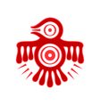 Aztec spirit bird vector image