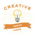 creative ideas social media banner template vector image vector image