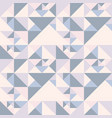 geometric abstract pattern with triangles vector image