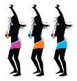 girls party vector image