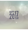 Happy New Year 2017 theme vector image vector image