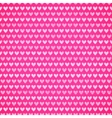 Pink fabric texture with heart seamless pattern vector image vector image