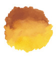 round watercolor stains on white background vector image vector image