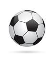 Classic soccer ball Football icon vector image