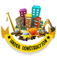 tn ConstructionMIX03 vector image
