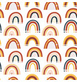 barainbow seamless pattern vector image vector image