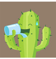 Cactus Drink vector image