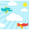 planes background vector image vector image