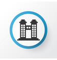 towers icon symbol premium quality isolated vector image