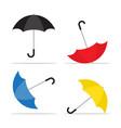 umbrella icon rain protection symbol vector image vector image