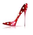 funny shoe vector image vector image