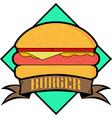 hamburger icon graphic vector image vector image