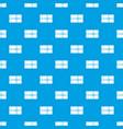 postal parcel pattern seamless blue vector image vector image