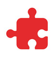 puzzle tab game vector image vector image