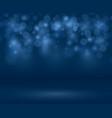 transparent sparkle blurred background vector image vector image