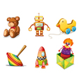 Various toys vector | Price: 1 Credit (USD $1)
