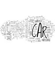 what s your dream car text word cloud concept vector image vector image
