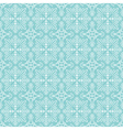 Blue christmas background with seamless pattern vector image