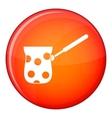 Cezve icon flat style vector image